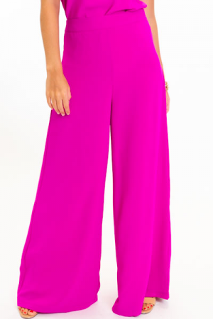 Paris Pants, Magenta