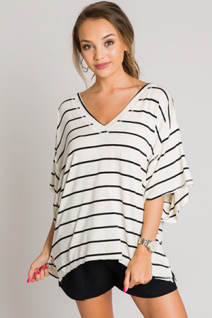 Go-to Striped Top