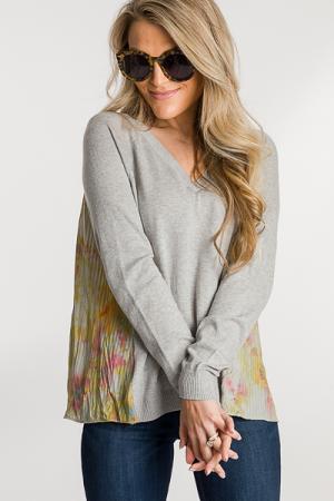 Dye Back Sweater