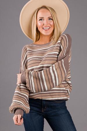 Warm Stripes Sweater