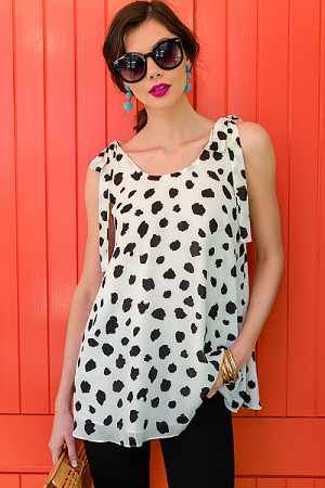 Kerr Dalmation Dress Tunic