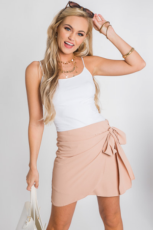 Champagne Wrap Skirt