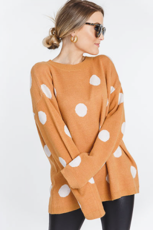 Golden Dots Sweater