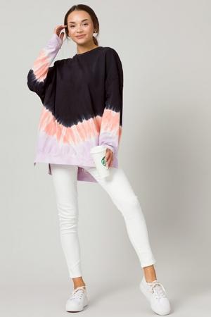 Iris Tie Dye Sweatshirt