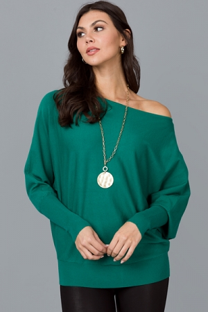 Mary Kate Sweater, Emerald