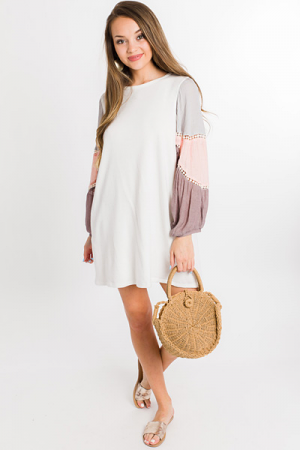 Neopolitan Sleeve Dress