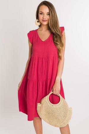 American Dream Dress, Strawberry