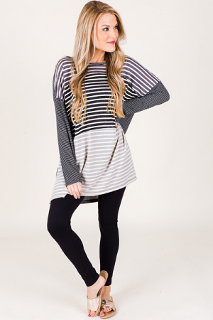 Rory Striped Tunic