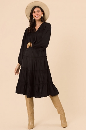 Genevieve Midi, Black