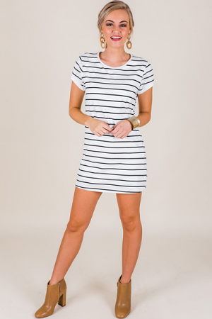 Back To Basics Stripe Dress