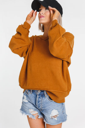 Ochre Pullover Sweater