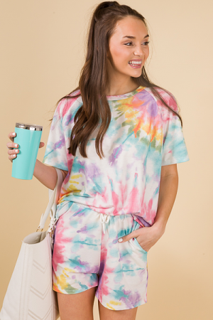 Colorful Tie Dye Time Set