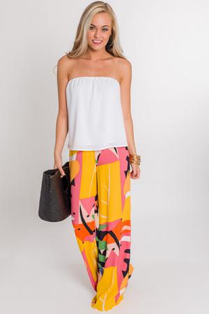 Calypso Printed Pants