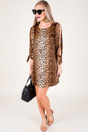 Jane Leopard Print Shift