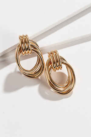 Oblong Gold Knot