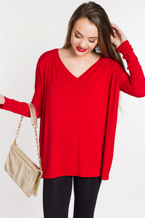 Piko V Top, Red
