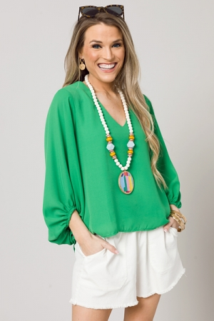 Evelyn Blouse, Kelly Green