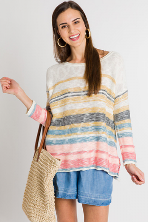 Sunset Boucle Pullover