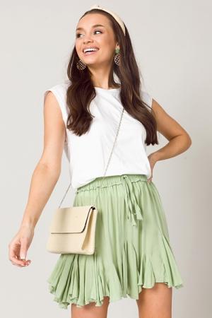 Summer Skirt, Pistachio