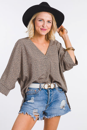 Wild Thoughts Boxy Blouse