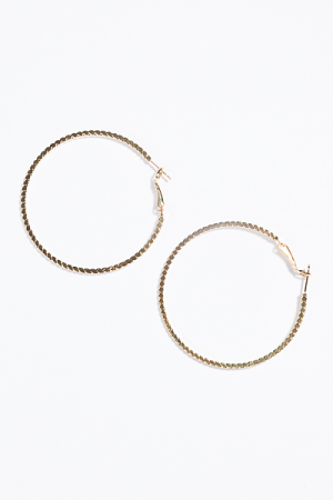 Glimmer Hoops, Gold
