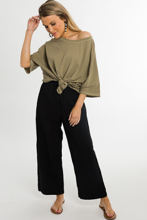 Tracey Trousers, Black