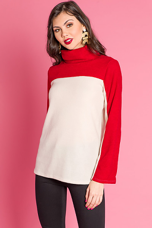 Sweet and Sour Turtleneck