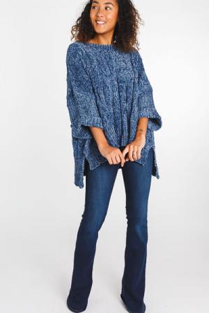 Midnight Dream Chenille Sweater