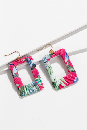 Maui Wrapped Ear, Fuchsia