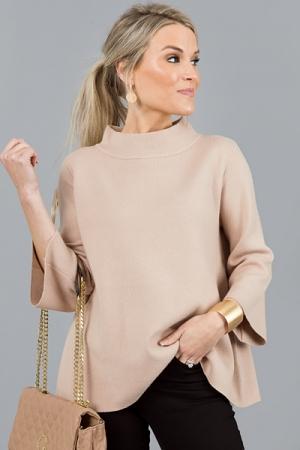Audrey Sweater, Beige