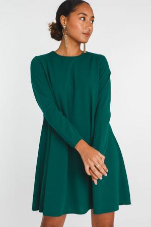 Florence Flowy Shift, Emerald