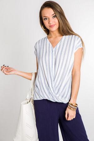 Resort Ready Stripe Top