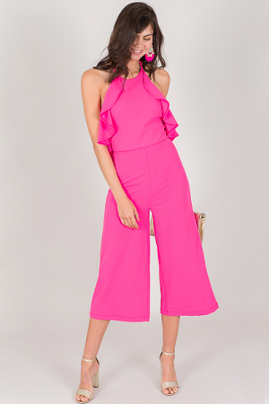 Morgan Jumpsuit, Pink