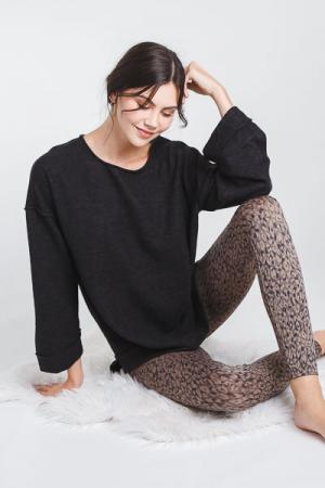 Spanx Seamless Leggings, Leopard