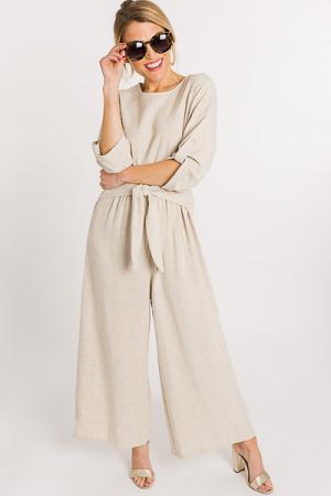 Linen Love Jumpsuit