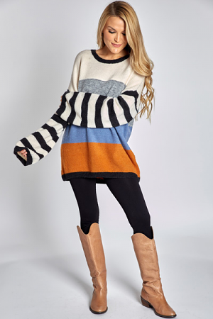 Stripe Lover Sweater