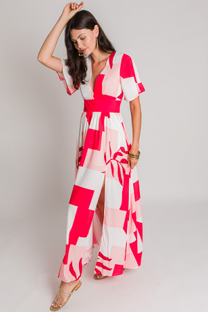 Diane Abstract Maxi