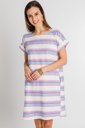 Pool Days Stripe Dress