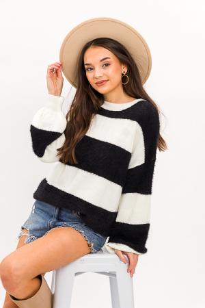 Dark Side Stripe Sweater