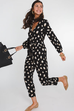 Mirrored Dots Jumpsuit