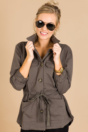 Button Me Up Utility Jacket