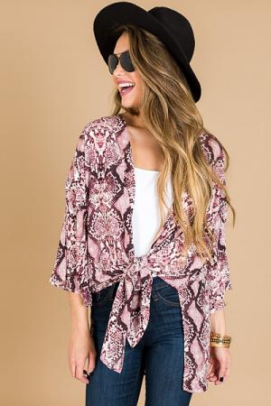 Simply Slither Kimono