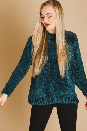 Into the Woods Chenille Sweater