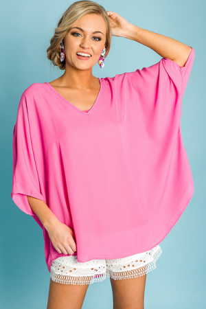 Favorite Boxy Tunic, Bubblegum