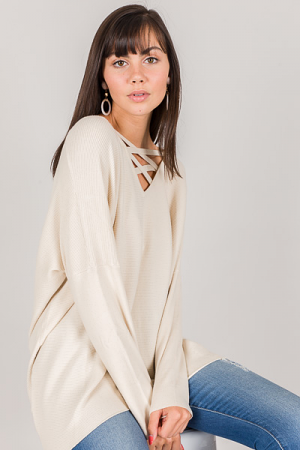 Lyla Criss Cross Sweater