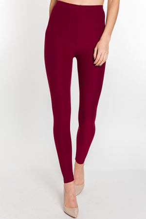 Sammy Soft Legging, Burgundy