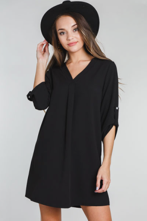 Tabitha Dress, Black