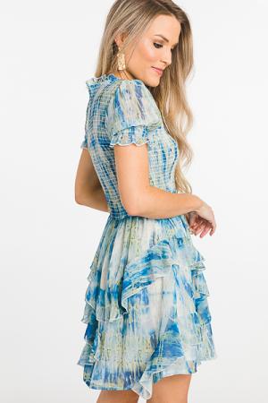Smocked Torso Dress