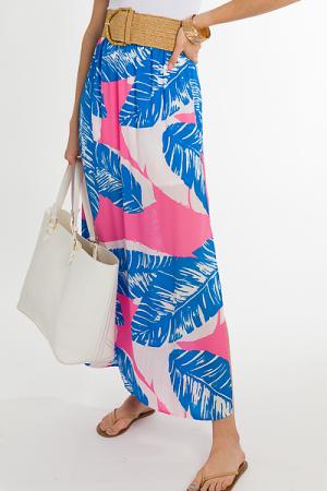 Palm Beach Maxi Skirt