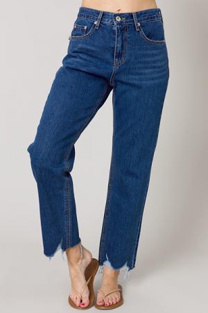 Jojo Raw Hem Jeans